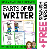Vocabulary Activities - Parts of a Writer