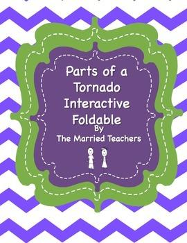 Parts of a Tornado Interactive Foldable