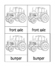 Parts of a Tractor 3-Part Cards