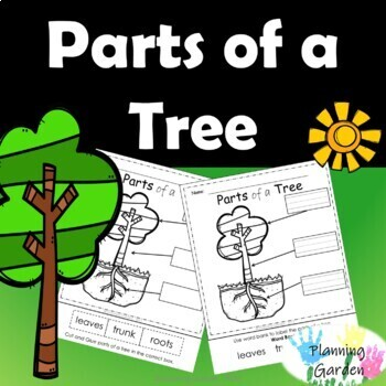 Parts of a Tree - printable