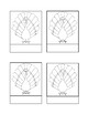 Parts of a Turkey Activity Montessori Three Part Cards And Master sheet