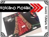 Parts of a Volcano - Mosaic Craft