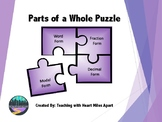 Parts of a Whole Puzzle