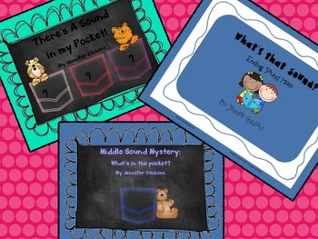 Parts of a Word: Beginning, Middle, End Sound Mats