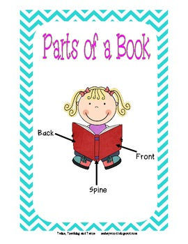 Parts of a book printable