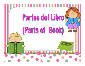 Parts of a book/Partes del libro English & Spanish version