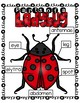 Parts of a ladybug- labeling worksheets and anchor charts