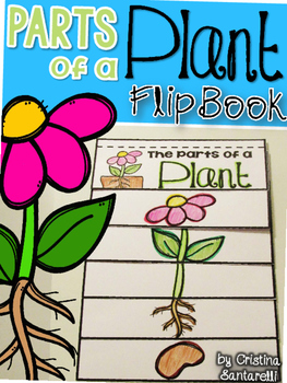 Parts of a plant flip book by AisforAdventuresofHomeschool ...
