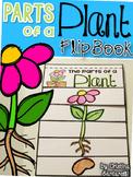 Parts of a plant flip book