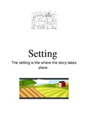 Parts of a story for young learners
