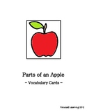Parts of an Apple - Apples (Thematic Unit) - Supplemental Activitiy