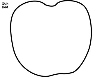 Parts of an Apple Craftivity