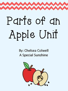 Parts of an Apple Unit for Autism and Special Education