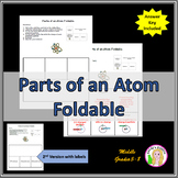 Parts of an Atom Foldable