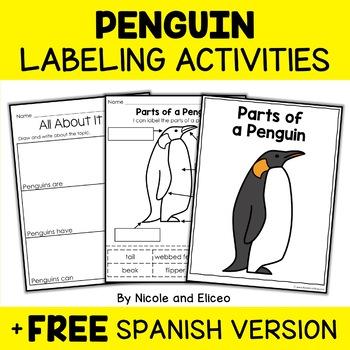 Parts of an Emperor Penguin Activity