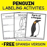 Parts of an Emperor Penguin Activities