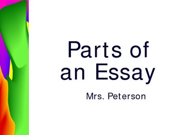 Parts of an Expository/ Analytical Essay - How to Write a Strong Paper