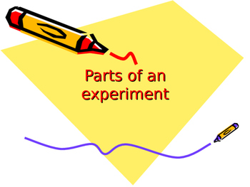 Parts of an experiment
