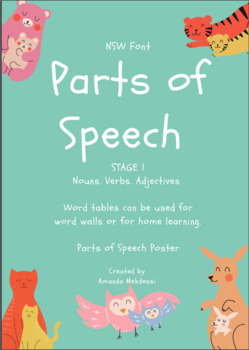 Parts of speech- Stage 1 (With site words!)