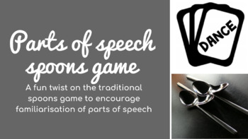 Parts of speech/word classes SPOONS game