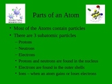 Parts of the Atom notes - complete and skeletal/fill in the blank