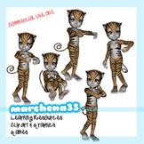 Parts of the Body 3D Clip Art - Commercial Use OK- Perfect