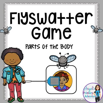Parts of the Body Flyswatter Vocabulary Game