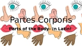 Parts of the Body - In Latin!