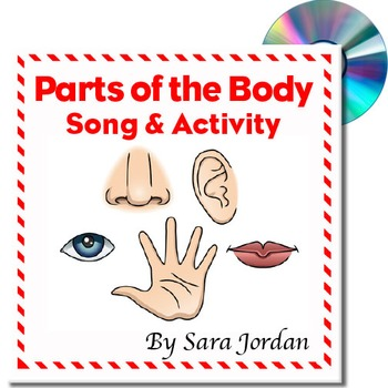 Parts of the Body - MP3 Song with Lyrics (Early Learning)