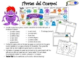 Parts of the Body in Spanish! Games & Worksheets!