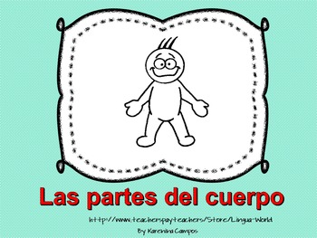 Parts of the Body in Spanish-Las partes del - PP