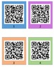 Parts of the Cell QR Code Scavenger Hunt