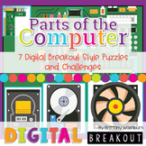 Parts of the Computer 3-5 Digital Breakout Challenges