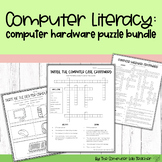 Parts of the Computer - Inside and Out - Puzzle Worksheets