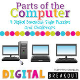 Parts of the Computer K-2 Digital Breakout Challenges