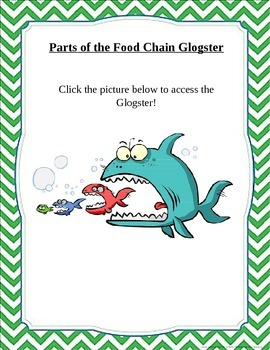 Parts of the Food Chain Glogster