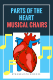 Parts of the Heart MUSICAL CHAIRS ACTIVITY