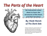 Parts of the Heart Organizer