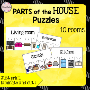 Parts of the House Puzzles