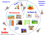 Parts of the House in English