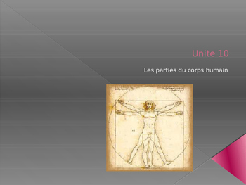 Parts of the Human Body in French