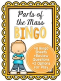 Parts of the Mass Bingo