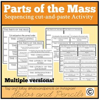 Parts of the Mass Order of the Mass Sequencing Activity