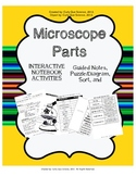 Parts of the Microscope (Notes, Foldable, Sort, Puzzle/Diagram)