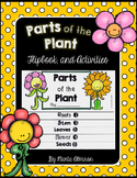 Parts of the Plant Flipbook and Activities