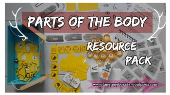 Parts of the body - RESOURCE PACK
