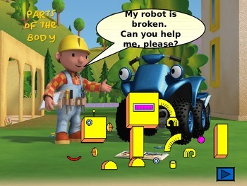 Parts of the body with Bob the Builder