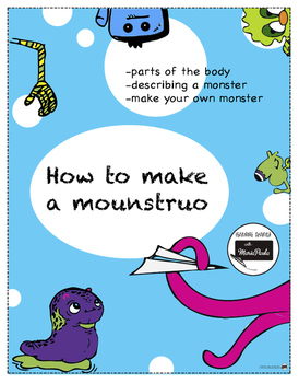 Parts of the monster - partes del mounstro