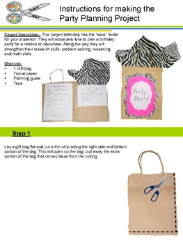 Party Bag Planner