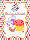 Birthday Party Budget: Financial Literacy Percent & Decima
